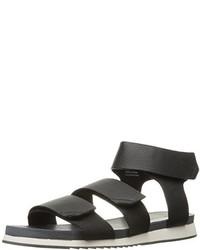 Sandalias negras de Calvin Klein