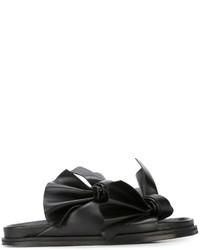 Sandalias negras de Cédric Charlier