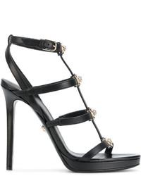 Sandalias Negras de Versace