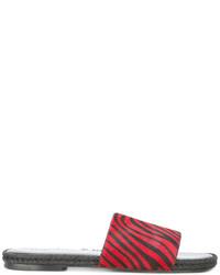 Sandalias rojas de Haider Ackermann