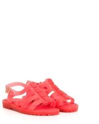 Sandalias rojas de Mini Melissa