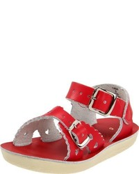 Sandalias Rojas de Salt Water Sandals by Hoy Shoe