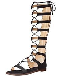 Sandalias romanas altas negras de Chinese Laundry