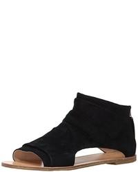 Sandalias romanas de ante negras de Koolaburra