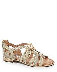 Sandalias romanas de cuero