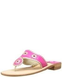 Sandalias rosa