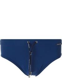 Shorts de baño azul marino de Dolce & Gabbana
