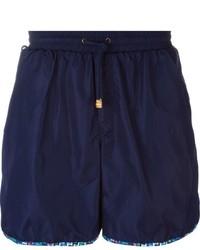 Shorts de baño azul marino de Missoni