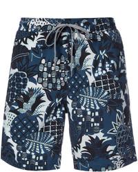 Shorts de baño azul marino de Onia