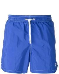 Shorts de baño azules de Canali