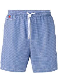 Shorts de baño celestes de Kiton