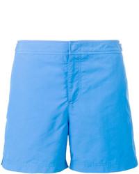 Shorts de baño celestes de Orlebar Brown