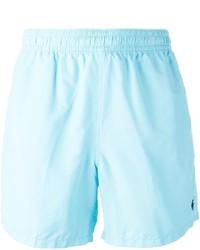 Shorts de baño celestes de Polo Ralph Lauren