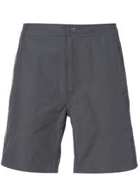 Shorts de baño en gris oscuro de Onia