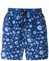 Shorts de baño estampados azul marino de Polo Ralph Lauren
