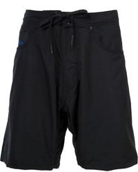 Shorts de baño negros de Diesel