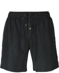 Shorts de baño negros de Dolce & Gabbana