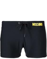 Shorts de baño negros de Moschino