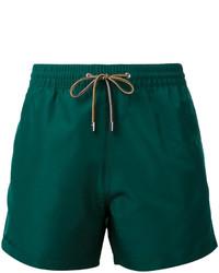 Shorts de baño verdes de Paul Smith