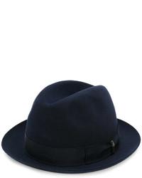 Sombrero azul marino de Borsalino