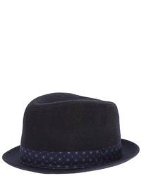 Sombrero azul marino de Paul Smith
