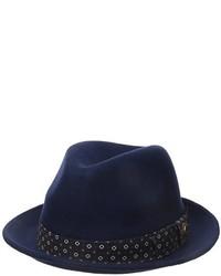 Sombrero de lana azul marino de Ben Sherman