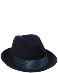Sombrero de lana azul marino de Stacy Adams