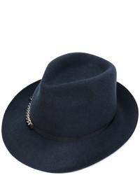 Sombrero de lana azul marino de Stella McCartney