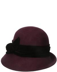 Sombrero de Lana Burdeos de Scala