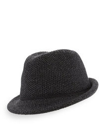 Sombrero de lana en gris oscuro