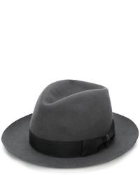 Sombrero de lana en gris oscuro de Borsalino