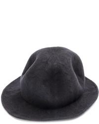 Sombrero de lana en gris oscuro de CA4LA