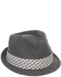 Sombrero de lana gris de Ben Sherman