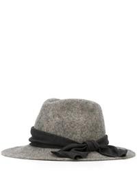 Sombrero de lana gris de CA4LA