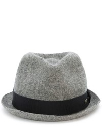 Sombrero de lana gris de DSQUARED2