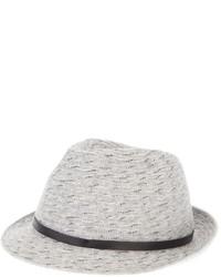 Sombrero de lana gris de Giorgio Armani