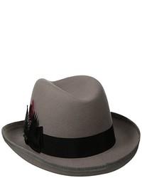 Sombrero de lana gris de Scala Classico