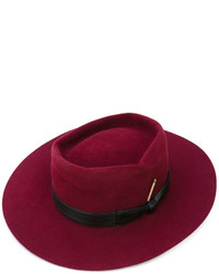 Sombrero de lana morado