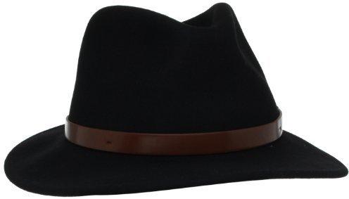 Sombrero de lana negro de Brixton
