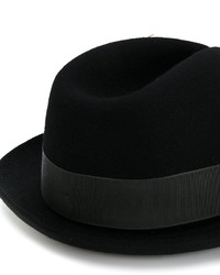 Sombrero de lana negro de Paul Smith