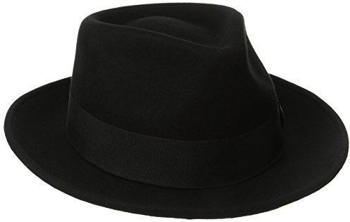 Sombrero de lana negro de Scala Classico