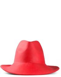 Sombrero de lana rojo