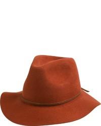 Sombrero de Lana Tabaco