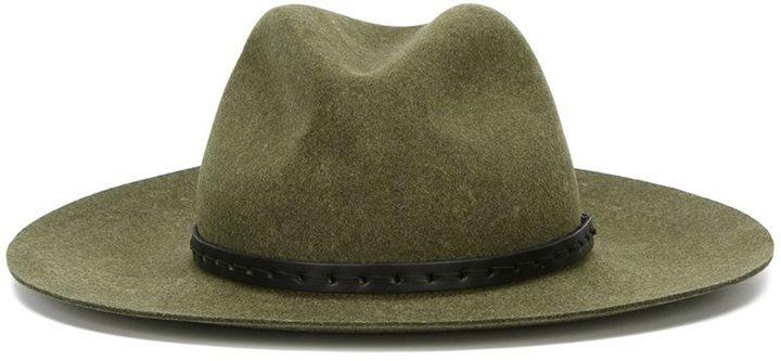 ... Sombrero de lana verde oliva de Rag   Bone 3521aa2ee6b