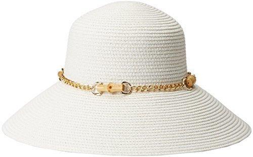 Sombrero de paja blanco de Gottex