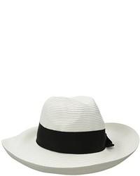 Sombrero de paja en blanco y negro de Physician Endorsed