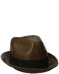 Sombrero de paja en marrón oscuro de Brixton