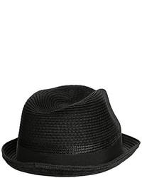 Sombrero de paja negro de Diesel