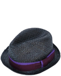 Sombrero de Paja Negro de Paul Smith