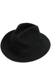 Sombrero negro de Dsquared2
